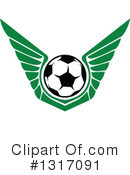 Royalty-Free (RF) Soccer Clipart Illustration #1317091