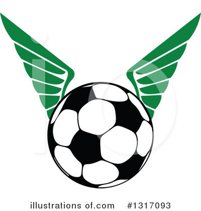 Soccer Clipart #1317093 by Vector Tradition SM