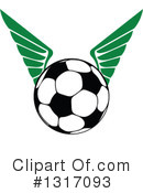 Royalty-Free (RF) Soccer Clipart Illustration #1317093