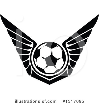 Soccer Clipart #1317095 by Vector Tradition SM