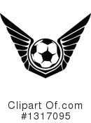 Royalty-Free (RF) Soccer Clipart Illustration #1317095