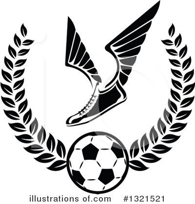 Soccer Clipart #1321521 by Vector Tradition SM