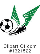 Royalty-Free (RF) Soccer Clipart Illustration #1321522