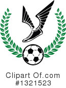 Soccer Clipart #1321523 by Vector Tradition SM