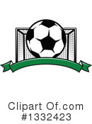 Royalty-Free (RF) Soccer Clipart Illustration #1332423