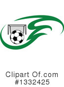 Royalty-Free (RF) Soccer Clipart Illustration #1332425