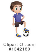 Royalty-Free (RF) Soccer Clipart Illustration #1342180