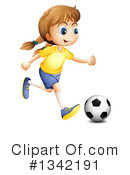 Soccer Clipart #1342191 by Graphics RF
