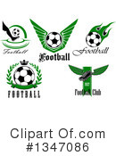 Soccer Clipart #1347086 by Vector Tradition SM