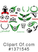 Soccer Clipart #1371545 by Vector Tradition SM