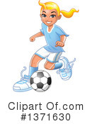 Soccer Clipart #1371630 by Clip Art Mascots