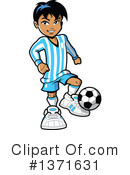 Soccer Clipart #1371631 by Clip Art Mascots