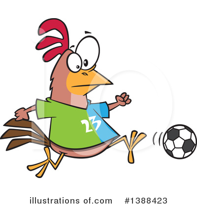 Soccer Clipart #1388423 by toonaday