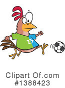 Royalty-Free (RF) Soccer Clipart Illustration #1388423