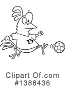Royalty-Free (RF) Soccer Clipart Illustration #1388436