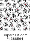 Royalty-Free (RF) Soccer Clipart Illustration #1388594