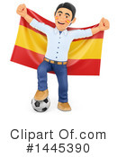 Royalty-Free (RF) Soccer Clipart Illustration #1445390