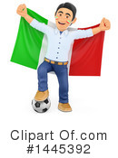 Royalty-Free (RF) Soccer Clipart Illustration #1445392