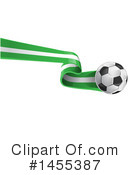 Royalty-Free (RF) Soccer Clipart Illustration #1455387