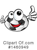 Soccer Clipart #1460949 by Domenico Condello