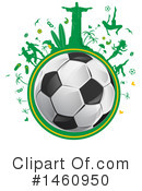 Royalty-Free (RF) Soccer Clipart Illustration #1460950