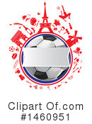 Royalty-Free (RF) Soccer Clipart Illustration #1460951