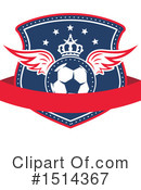 Soccer Clipart #1514367 by Vector Tradition SM