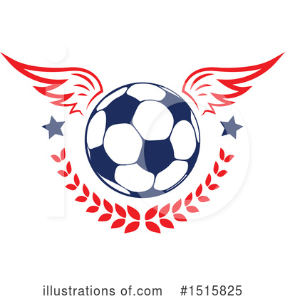 Football Clipart #1515825 by Vector Tradition SM