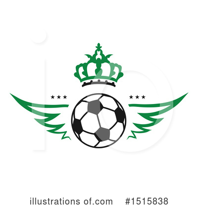 Football Clipart #1515838 by Vector Tradition SM