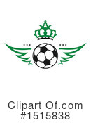 Royalty-Free (RF) Soccer Clipart Illustration #1515838