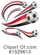 Royalty-Free (RF) Soccer Clipart Illustration #1529613