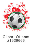 Soccer Clipart #1529666 by Domenico Condello