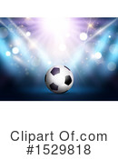 Soccer Clipart #1529818 by KJ Pargeter