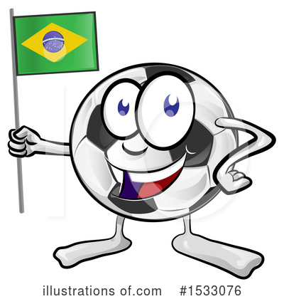 Royalty-Free (RF) Soccer Clipart Illustration by Domenico Condello - Stock Sample #1533076