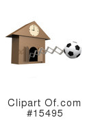 Royalty-Free (RF) Soccer Clipart Illustration #15495