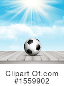 Soccer Clipart #1559902 by KJ Pargeter