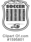 Soccer Clipart #1595801 by Vector Tradition SM