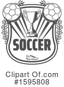 Soccer Clipart #1595808 by Vector Tradition SM