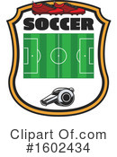 Soccer Clipart #1602434 by Vector Tradition SM