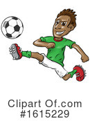 Soccer Clipart #1615229 by Domenico Condello