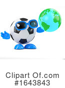 Soccer Clipart #1643843 by Steve Young