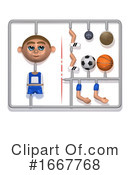 Soccer Clipart #1667768 by Steve Young