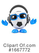 Soccer Clipart #1667772 by Steve Young