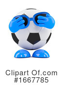 Soccer Clipart #1667785 by Steve Young
