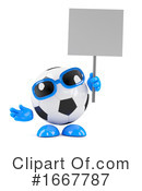 Soccer Clipart #1667787 by Steve Young