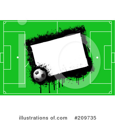 Royalty-Free (RF) Soccer Clipart Illustration by KJ Pargeter - Stock Sample #209735