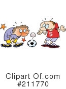 Royalty-Free (RF) Soccer Clipart Illustration #211770