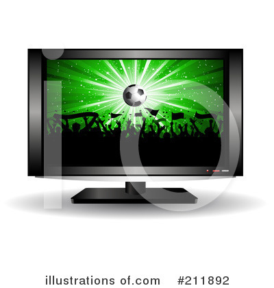 Royalty-Free (RF) Soccer Clipart Illustration by KJ Pargeter - Stock Sample #211892