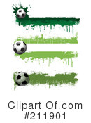 Royalty-Free (RF) Soccer Clipart Illustration #211901