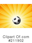 Royalty-Free (RF) Soccer Clipart Illustration #211902